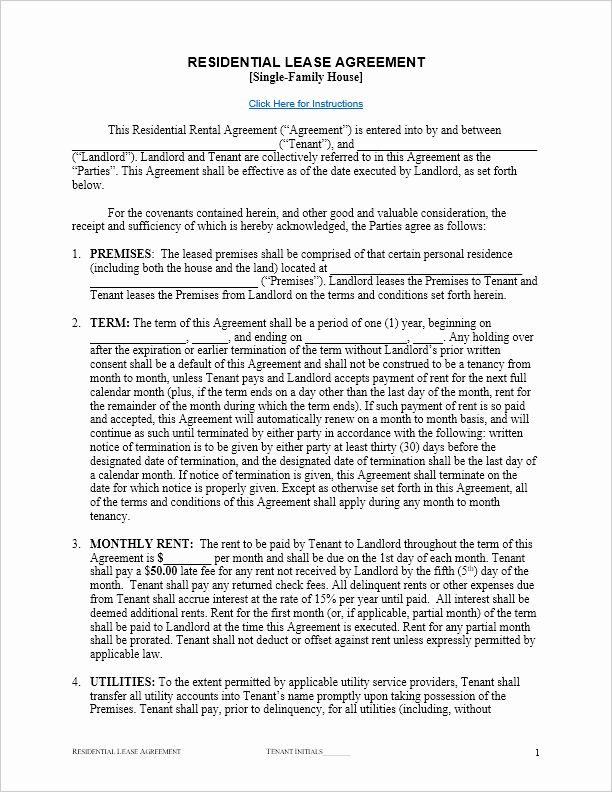 Weekly Rental Agreement Template Inspirational Free Lease Agreement Template For Word Lease Agreement Lease Agreement Free Printable Rental Agreement Templates