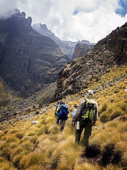 Gorges Valley Mount Kenya Australian Geographic Outdoor