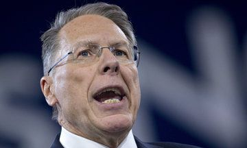 NRA's Wayne LaPierre Freaks Out About Ex-Felons Voting, Is Fine With Them Carrying Guns