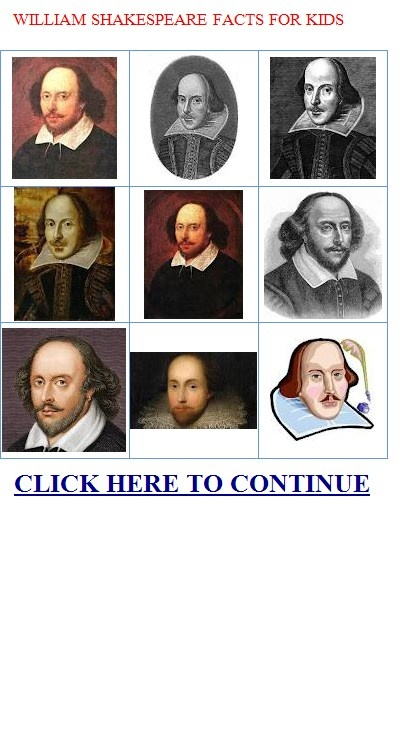 What is a good website filled with facts about shakespeare i have a report due soon?