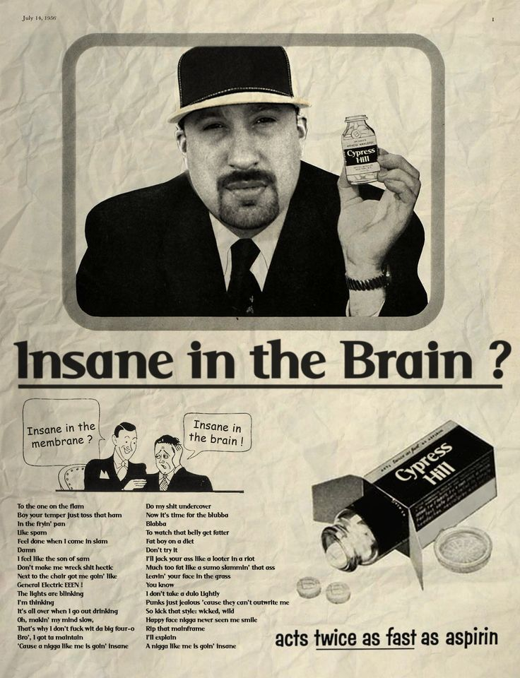 David Redon - remixes Vintage American Advertisements with Pop Icons | hip hop art selected by BruteBeats.com Your Real Hip Hop Station | #hiphop #cypresshill