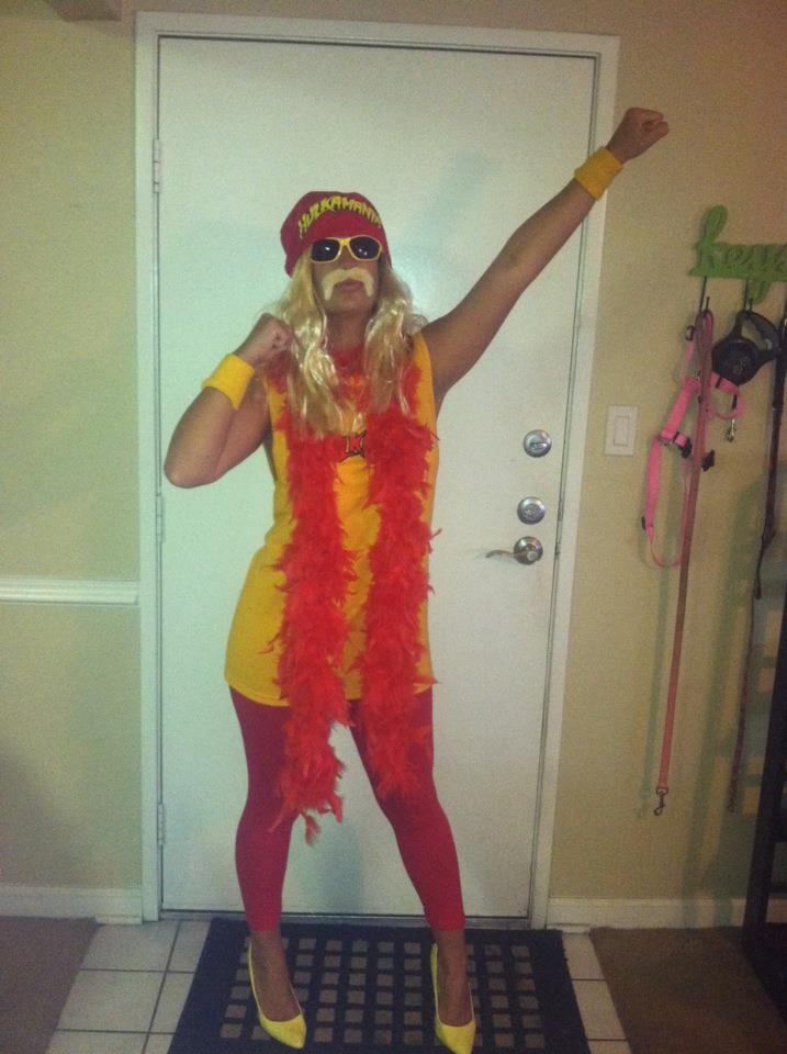 Hulk Hogan Halloween costume - totally doing this!!