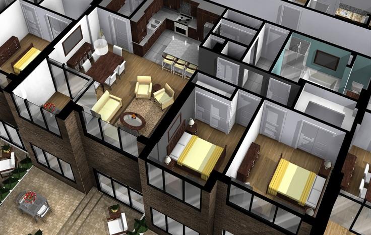 Revit et le bim 3d illustration illustration 3d for 3d interieur ontwerpen gratis