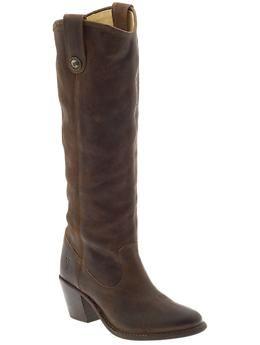 tall cowboy boot. love