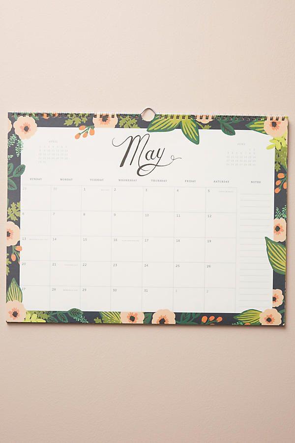 Slide View: 3: Botanical 2018 Appointment Calendar