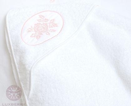 Купить полотенце детское ROSE с капюшоном 100х100 от производителя Luxberry (Португалия)