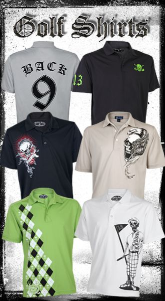 6fab58b5208 off onTattoo Golf Clothing - Golf Shirts