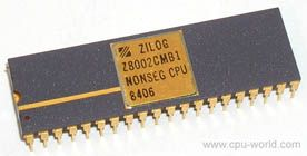 Zilog Z8002CMB1 I Collect these Chips and the Hardware they go into , I have EPROM Reader/Writers for some AMD ,  Zilog Z80's and CMOS Chips , I'm hoping youngsters take an interest in saving these Chips and Tools in the future and actually program and use them , They were manufactured very well in clean rooms and will Last perhaps centuries , no mater how advanced we get , someone needs to comprehend the beginnings of where this all came from