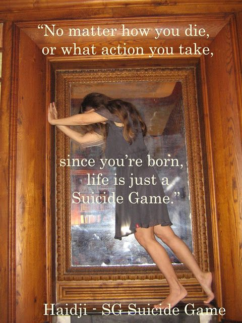 Haidji: Suicide Game - Book Quote - SG Suicide Game - Haid...