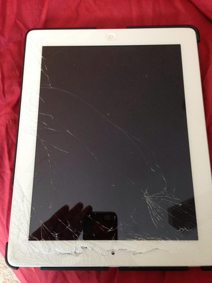 Thank you iHeart Repair! Shattered iPad? Cracked phone screen? No problem! by Brett from ThisMamaLoves.com