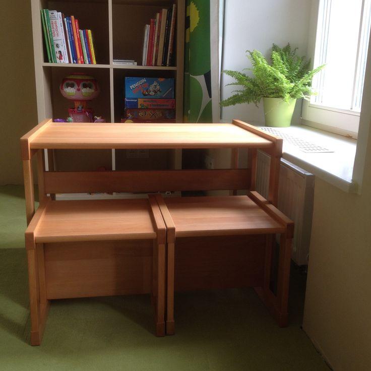 Montessori stôl a stoličky Dorotka od 3 rokov