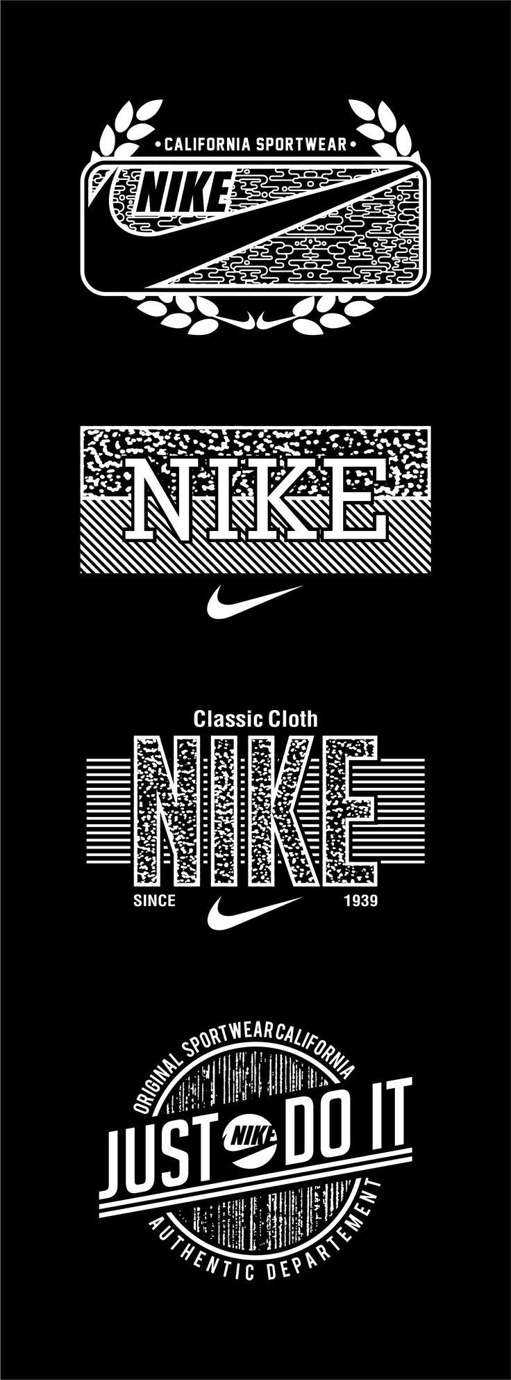 Vintage Nike vintage vector vintagevector