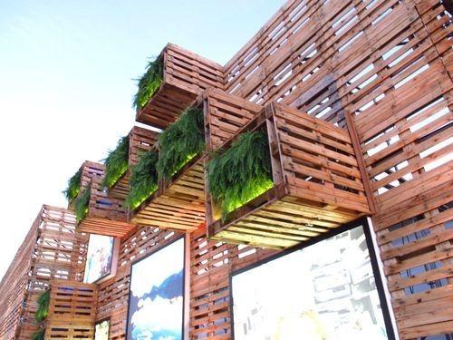 Pavilhão foi recoberto com 7.000 estrados de madeira recuperada durante Rio+20   Seu Lar Aqui - Imóveis Curitiba   Florianópolis   Itapema   Balneário Camboriú   Itajaí