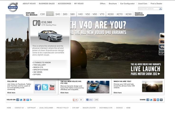 Volvo Model Dropdown