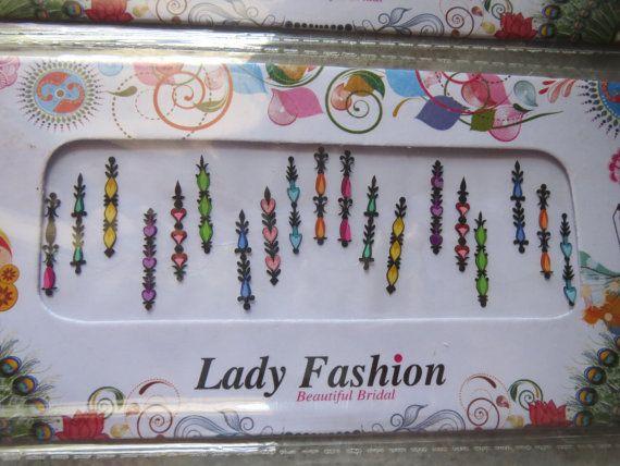 On sale Designer bollywood bindi/Bridal by CraftyJaipur on Etsy