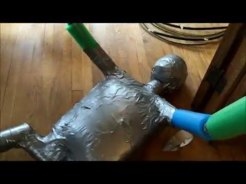 How To Build A Grappling Dummy for £30 - YouTube