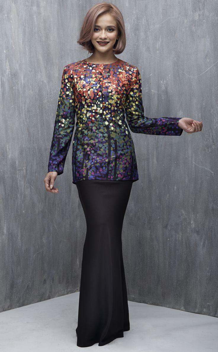 EMEL X SAZZY FALAK - REEF STAR - Exclusive Print Modern Baju Kurung (Print) A…