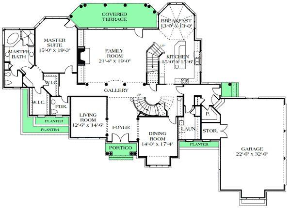 Plan 17712LV: European Style Luxury Estate
