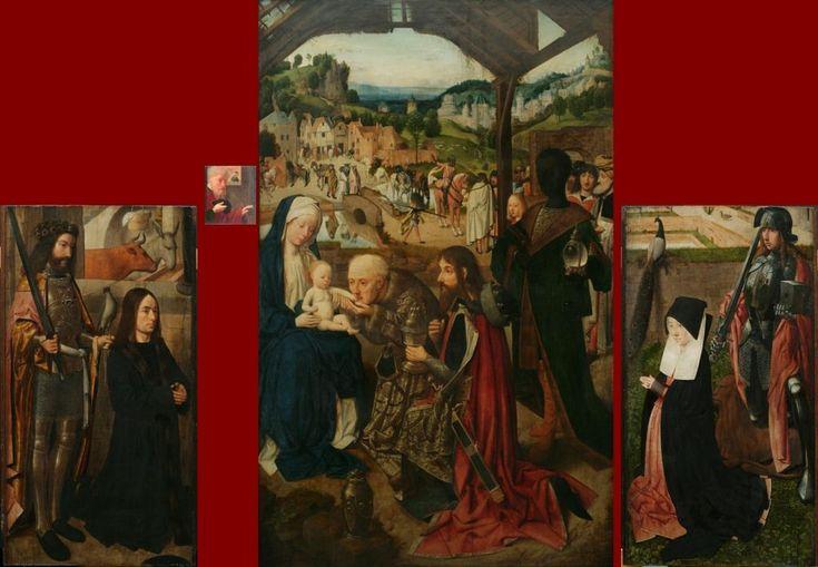 Geertgen tot Sint Jans (1460/1465 – до 1495) Триптих«Поклонение волхвов» в Праге.