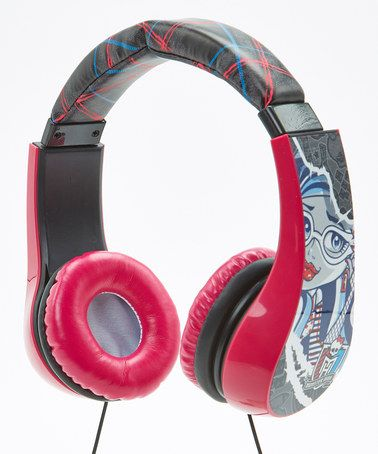 Another great find on #zulily! Monster High Kids Headphones by Monster High #zulilyfinds