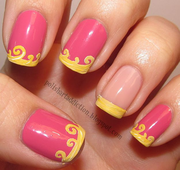 Sleeping Beauty Nails: 16 Examples Of Disney Nail Art That Will Render You