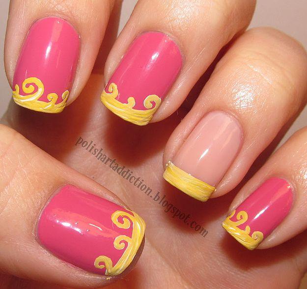 Dress Disney Princess Nails: 16 Examples Of Disney Nail Art That Will Render You