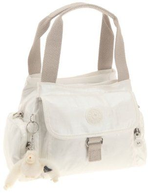 Kipling Women's Fairfax Handbag Lacquer White K10970013,