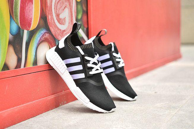 cheap for discount 4380f 3fc43 Shop 2018 Women Adidas original NMD 2019 Summer GS Core Black White