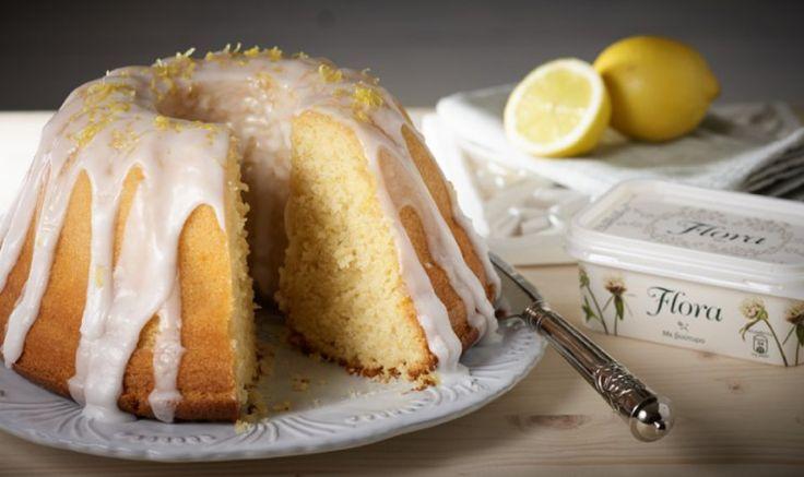 Λαχταριστό και απολαυστικό Κέικ λεμόνι με γλάσο λεμονιού με αυτήν τη συνταγή!