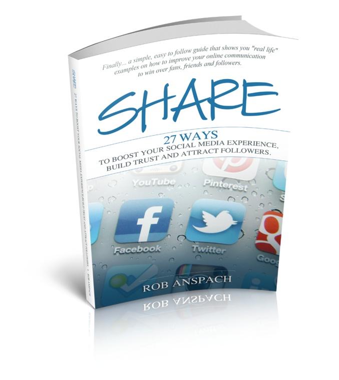 Rob Anspach | Marketing Maniac & Social Media Genius | Author, Speaker & Coach. Rob rocks!!! He is my SEO man!