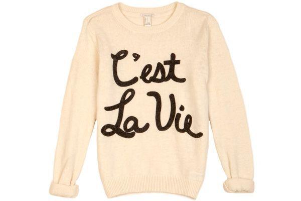C'est La Vie Sweater / Forever 21