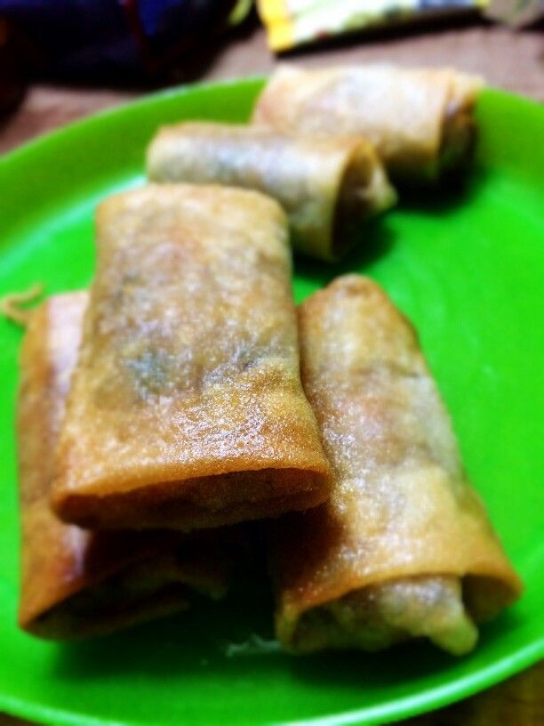 Home made Martabak