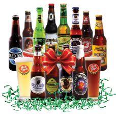 15 best beer baskets images on pinterest beer basket beer gift around the world in 12 beers beer gift basket negle Images