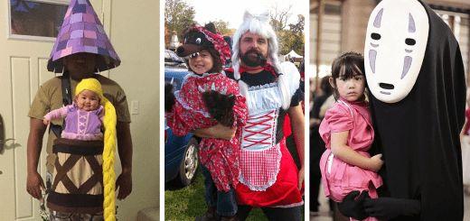 Повод превратить праздник в развлечение для всей семьи. Посмотрите на эти семейные костюмы: определенно, эти люди знают, как сделать Хэллоуин незабываемым!