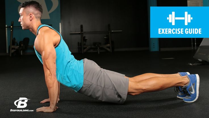 Dive Bomber Push-Up | Exercise Guide #PushUp #workout
