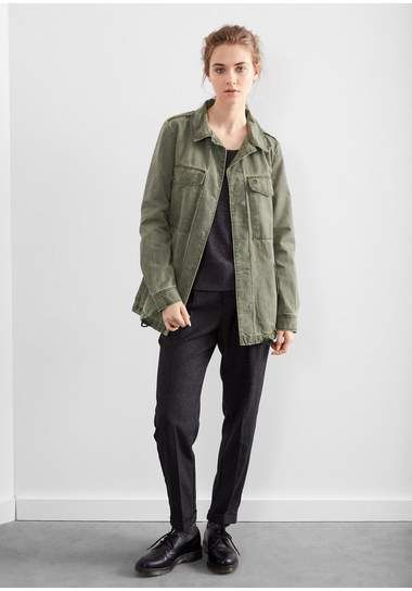 Q/S designed by Parka in een military look
