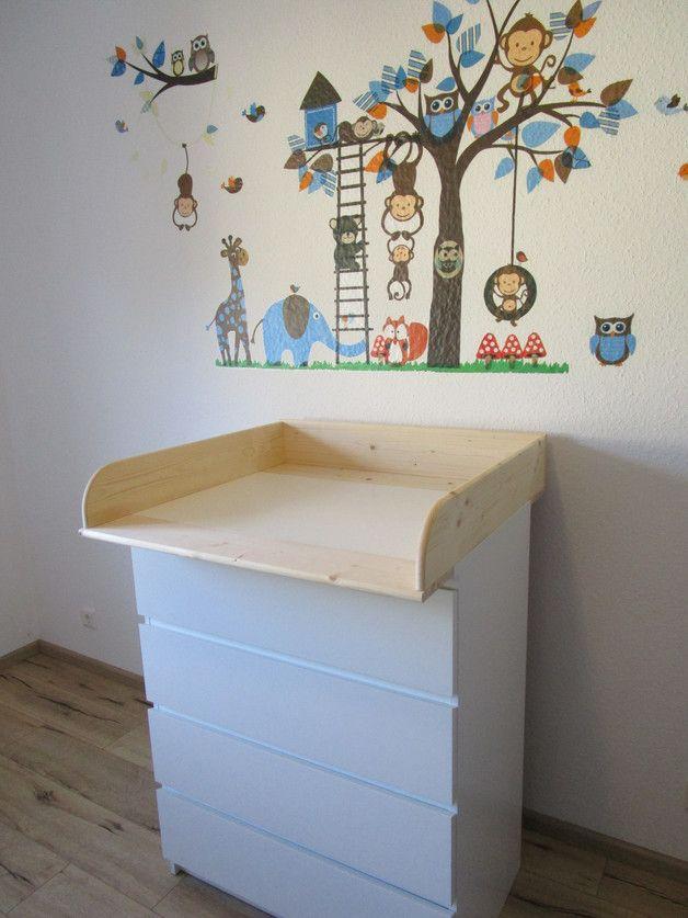 Wickelaufsatz, Wickeltischaufsatz, Wickelkommodenaufsatz, Wickelbrett  Wickeltischaufsatz 14 cm für Ikea Malm Kommode  NEU & OVP  Das Original, völlig frei von Schadstoffen, da...