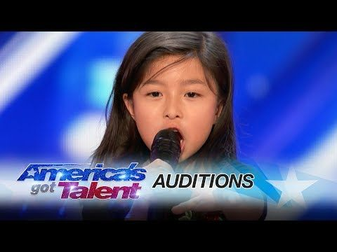 "Leak: 9-Year-Old Celine Tam Stuns Crowd with ""My Heart Will Go On"" - America's Got Talent 2017 - YouTube"