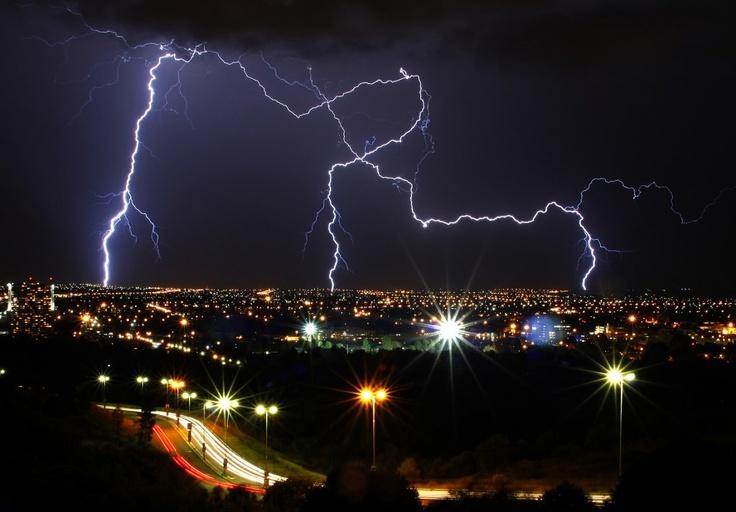 Lightning Over Bloemfontein