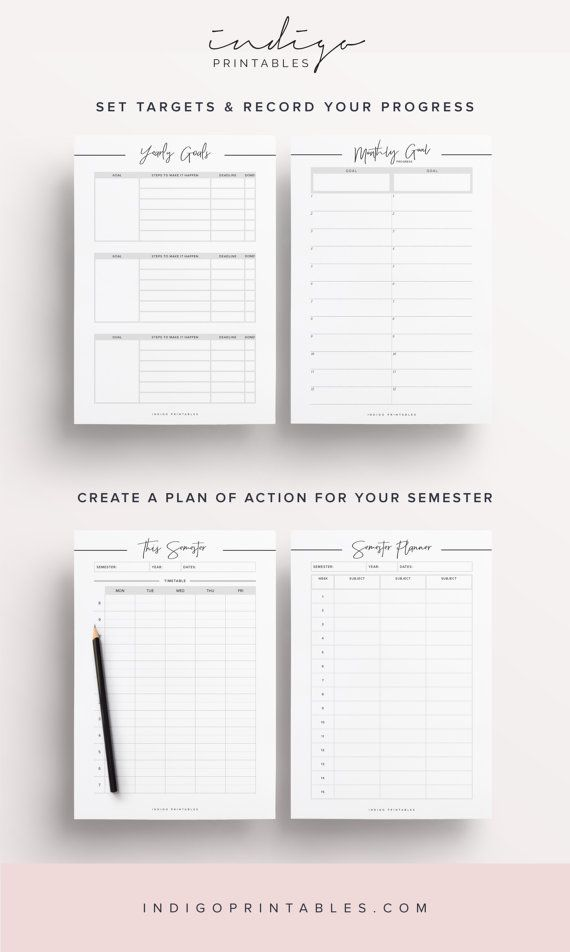 Best 25+ Student planner ideas on Pinterest College organization - school agenda template
