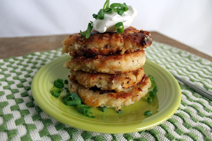 Post Thanksgiving Potato Pancakes