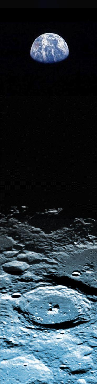 ♥ Earth and Moon