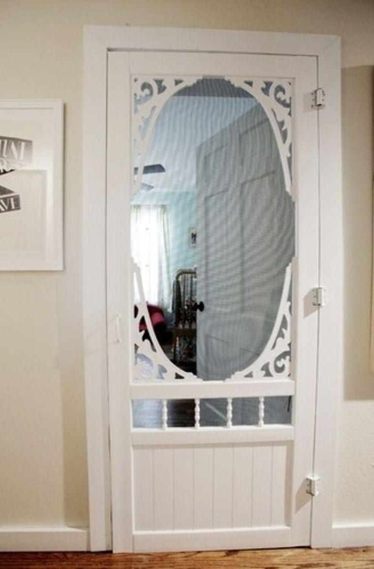 82 Best Screen Doors Images On Pinterest Windows Wooden Screen