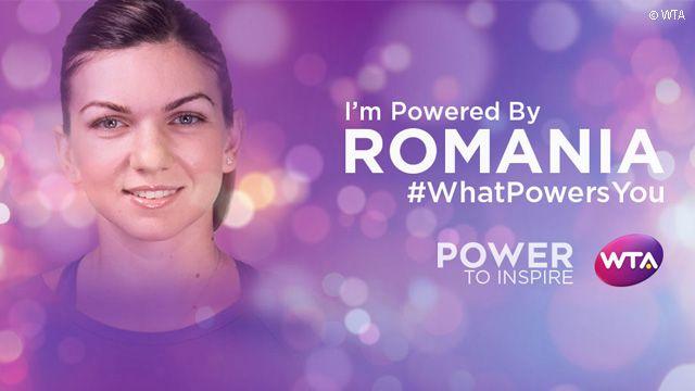 #WhatPowersYou: Simona Halep