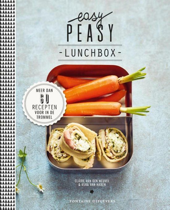 Familie Kookboeken tips Easy Peasy Lunchbox Foodblog Foodinista
