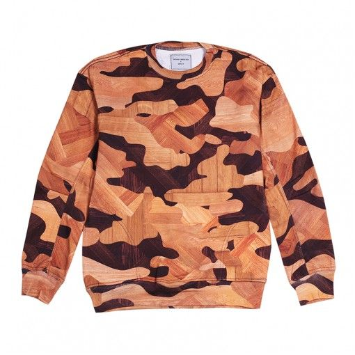 Wooden Floor Camo Sweat