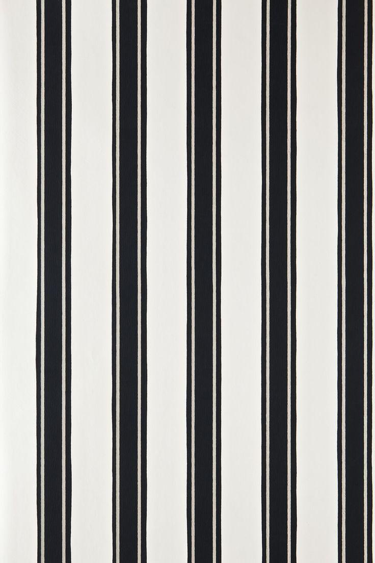 Block Print Stripe BP 754 | Wallpaper Patterns | Farrow & Ball