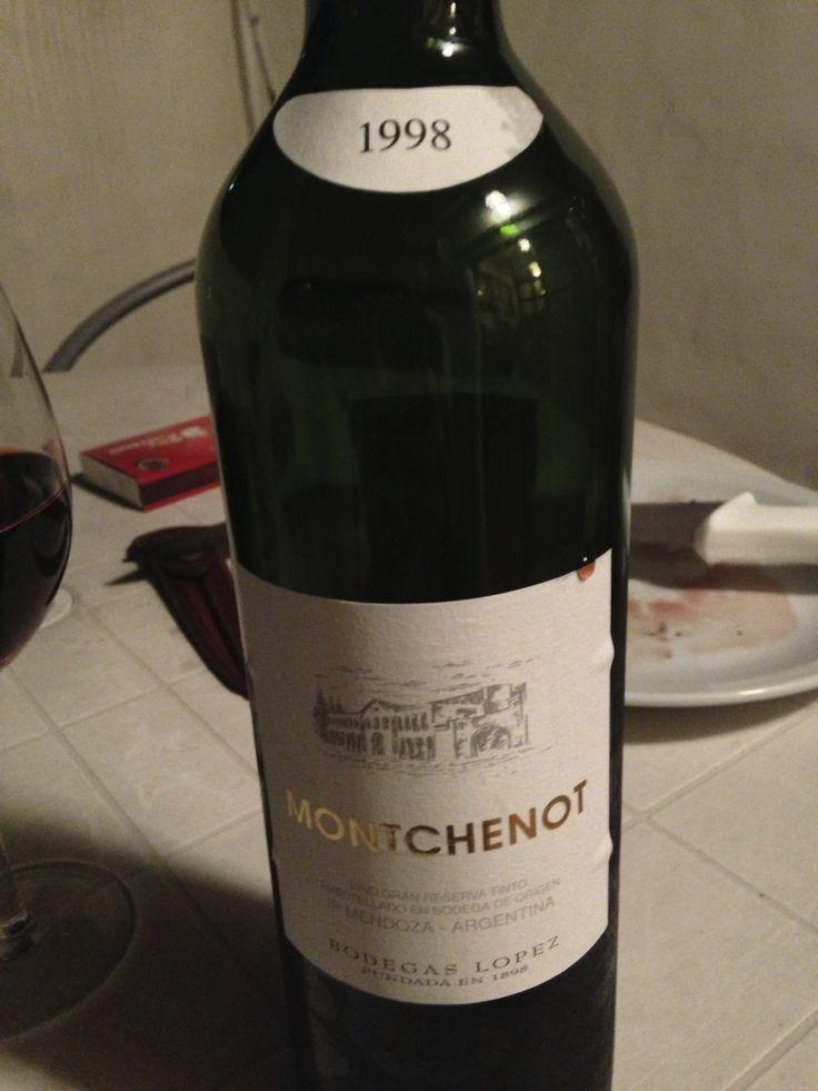 Montchenot - Blend - 1998 - Lopez - Mendoza, Argentina