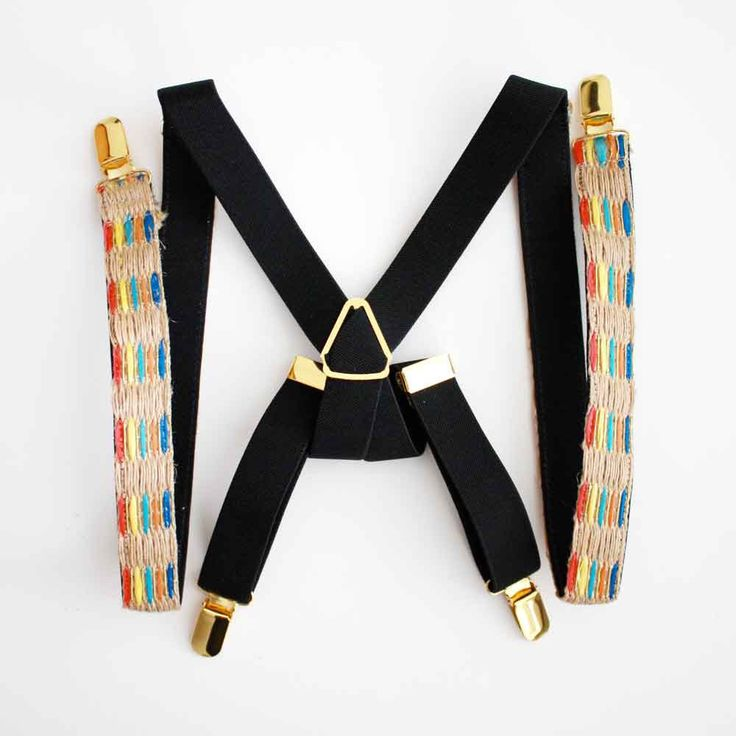 Jute Trim Suspenders - Women Suspenders - Gold Hardware - Fashion Suspenders for Women - Women's Suspenders - Fashion Accessories by HooksAndLuxeNY on Etsy https://www.etsy.com/listing/385946754/jute-trim-suspenders-women-suspenders