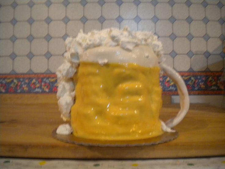 torta birra...DOLCE spumosa birra